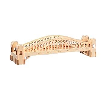 Woodcraft Maqueta de Madera Modelo Sydney: Amazon.es: Hogar