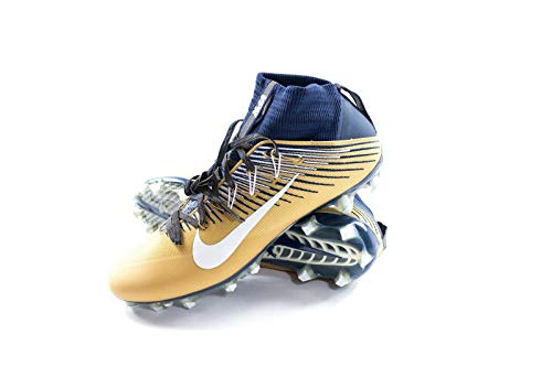Nike Vapor Untouchable 2 PF Football/Lacrosse Cleats (11.5 D(M) US, College Navy/Metallic Gold)