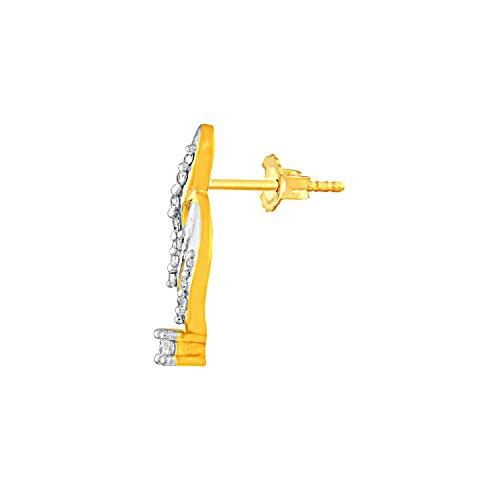 Giantti 14carats Diamant pour femme Boucles d'oreille à tige (0.147CT, VS/Si-clarity, Gh-colour)