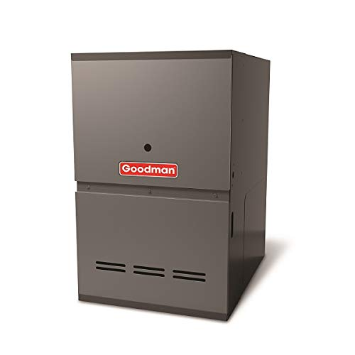 Goodman GDH81005CN Gas Furnace, Two-Stage Burner/Multi-Speed Blower, Downflow 80% AFUE - 100,000 BTU