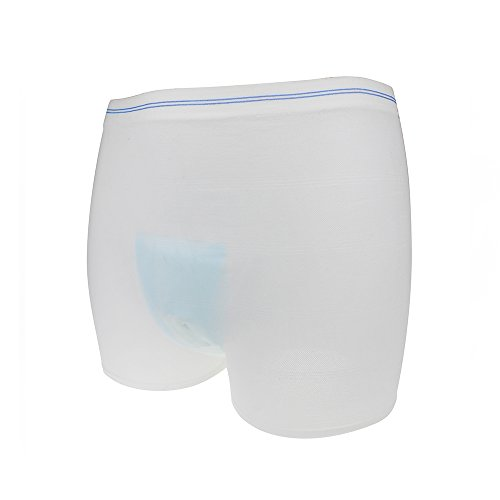 Incontinence Protective Underwear Postpartum Underwear Disposable After Childbirth Panty Adult Incontinence Pants Hold Pad for Women & Men 3 Pack medium