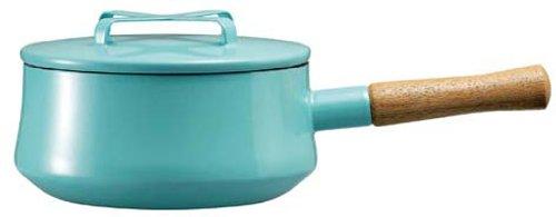 DANSK Koben style enamel saucepan Teal 825 969 by Dansk