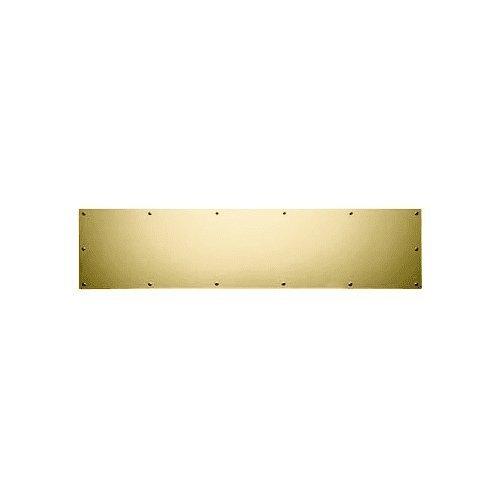 Baldwin Kick Plate (Baldwin 2000.0834 8 Inch x 34 Inch Solid Brass Kick Plate, Satin Brass)