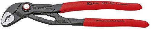 Knipex Tools 87 21 250 SBA Cobra Quickset Water Pump Pliers