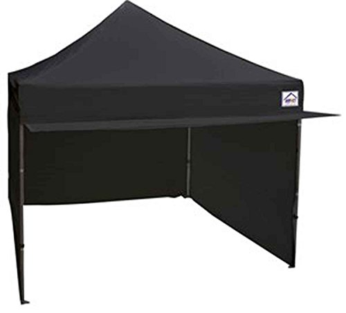 Impact Canopy 10 x 10 Instant Pop Up Canopy Tent with Canopy Awning, Canopy Sidewalls, Frame and Canopy Accessories Included, White