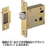 シロクマ 白熊印 レバーハンドルオプション ゴール GOAL 空錠 LY バックセット51mm ヘアーライン