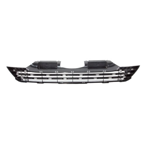 CarPartsDepot, Front Bumper Lower Grille Grill New Mat Black Bar Insert Japan Built Assembly, 363-20138-10 HO1036102 71121SWA003