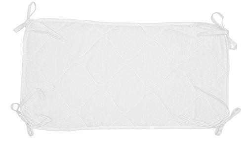 (Abstract Quilted Porta-Crib Sheet Saver (24.5