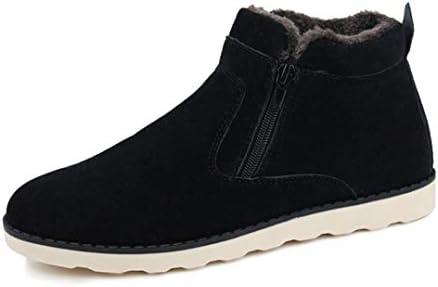 ブーツ サイドジップ スノーブーツ 雪靴 メンズ 裏起毛 防寒 ワークブーツ サイドゴア ジッパー カジュアルシューズ ハイカット ショートブーツ 綿の靴 秋 冬 エンジニアブーツ ウォーキングシューズ ペコスタイプ