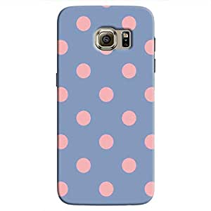 Cover It Up - Pink Spots Galaxy S7 EdgeHard Case
