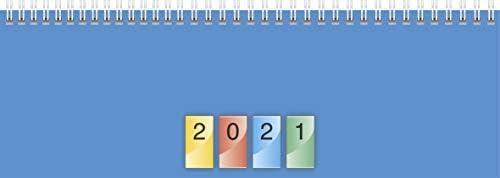 Brunnen Tischkalender DATAline quer 1Woche/2Seiten 2021