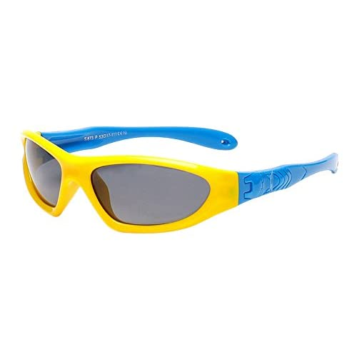 08aff1e020 XFentech Unisexo Niños Polarizadas Gafas de Sol Deportivas para Niños &  Niñas Flexible ...
