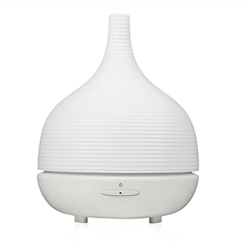 Gomyhom Bluetooth 4.0 Wirless Smart Bluetooth Aroma SPA Diffuser Translucent Thread Ultrasonic Aromatherapy Humidifier