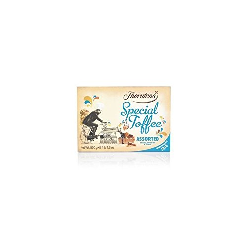 Thorntons Assorted Special Toffee Box (500g) (Pack of 6) by Thorntons (Image #1)