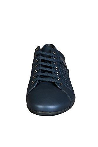 Versace , Herren Sneaker blau blau 41 EU Blau