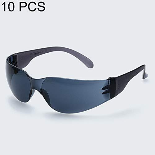 Cicongzai 10 STÜCKE Arbeitsschutzbrille Winddicht Mode Design KonventionellDustproof Schutzbrille