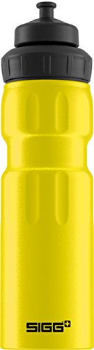 (Sigg WMB Sports Touch Water Bottle, Yellow, 0.75-Liter)