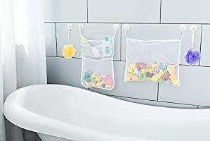 Baby Bath Time Toy Tidy Storage Hanging Bag Mesh Bathroom Organiser Net Kid JA