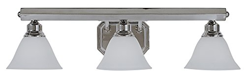 Framburg 5253 PS 3-Light Maisonette Sconce, Polished (Framburg Silver Sconce)