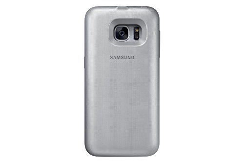 Samsung Galaxy S7 edge handheld Charging Battery Pack Cover, Silver