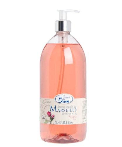 Le Comptoir du Bain Savon Liquide de Marseille Rosetta 1 L