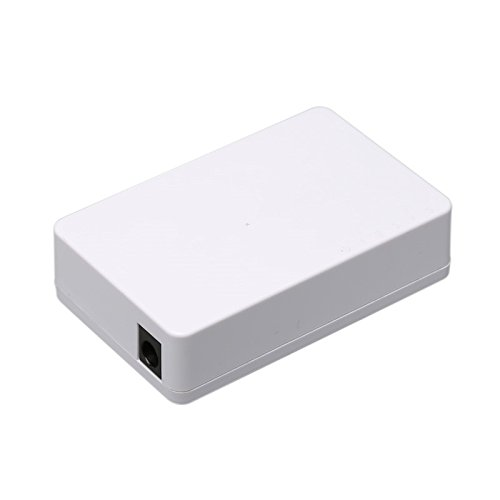 Maxesla Switch de Red con 5 puertos Ethernet RJ45 10//100 Mbps Switch Conmutador Autosensing Plug and Play Smart Negociaci/ón Autom/ática IEEE802.3x