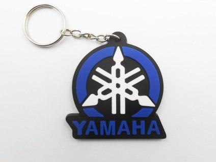 Keychains puerta llaves - Yamaha - Blue Black - Motocross ...