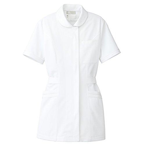 【Lumiere】ルミエール 女性用 半袖 白衣 チュニック 診察衣 (861349) 【S,M,L,LL,3L,4L5L,6Lサイズ展開】