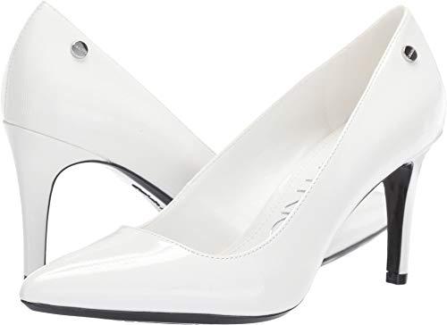 Calvin Klein Women's Nilly White Patent Smooth 10 M US ()