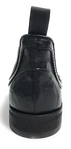 Lorenzi, Uomini Lace Up Brogue Nero Nero