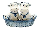 windmill salt and pepper shakers - Essence of Europe Gifts Cows in Basket Salt & Pepper Set