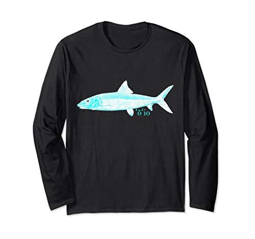 'O 'io - Hawaiian Bonefish Men's Long Sleeve T-Shirt