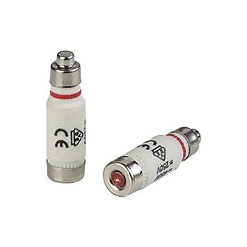 Sicherung Größe D01 16A Nennspannung 250//400V E14