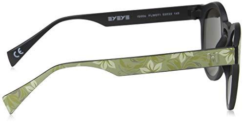 Adulto Sol SL Unisex Gafas 1 Laurent 002 Negro 59 de Saint Black Smoke qpw86HZx