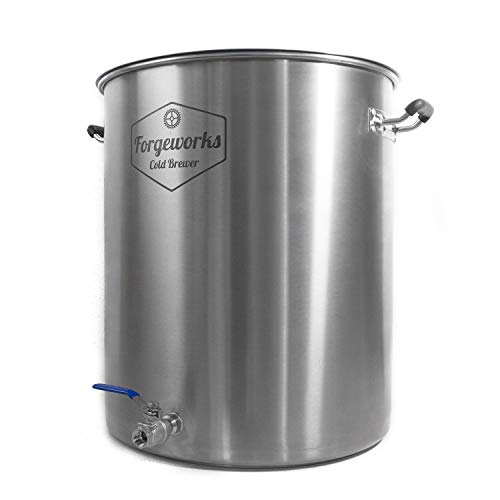 Forgeworks Cold Brewer - Commercial 20 Gallon Capacity Stainless Steel Cold Brew Vessel by Forgeworks Stainless (Image #1)