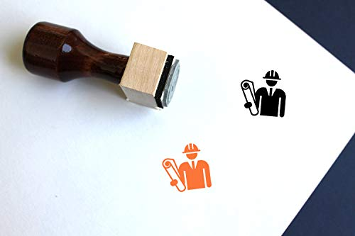 Architect Rubber Stamp (2.5