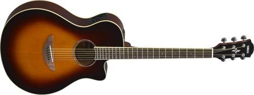 Yamaha APX600 OVS Thin Body Acoustic-Electric Guitar, Old Violin Sunburst (Best Yamaha Acoustic Electric Guitar)