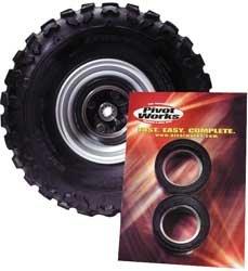 UPC 639853614876, 87-90 SUZUKI LT500R: Pivot Works Rear Wheel Bearing Kit (SILVER)
