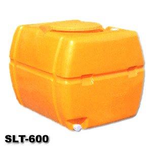 SLTタンク スーパーローリータンク 600L(バルブ無し)黄 B002KCVREO