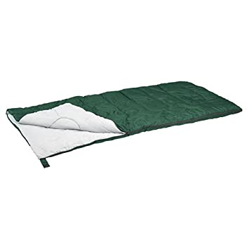 Stansport Redwood Ultra Light Sleeping Bag Green, 55-Degree