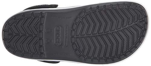 Crocs Ii Mixte black Adulte charcoal Noir Sabots Crocband Clog 5 rr5x6qRpw