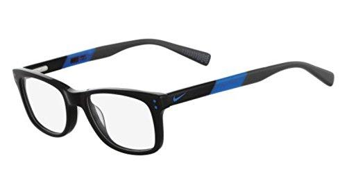 Nike - NIKE 5538, Wayfarer, acetate, men, BLACK BLUE (013 F), 49/17/135