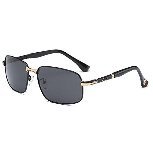 Conductor Espejo De QZ Espejo 3 4 Polarizadas HOME Color Sol Sol Gafas Gafas Conducir Caja De PPnxvE8Hwq