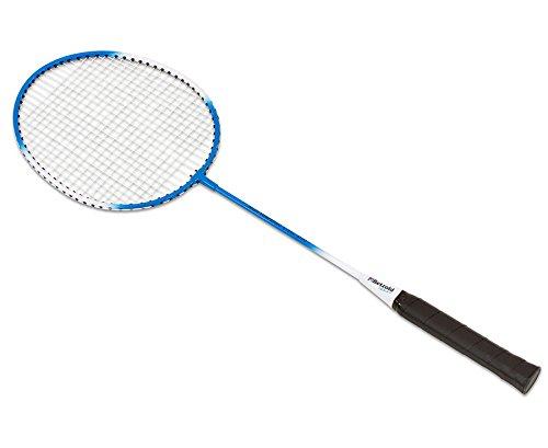 Betzold Sport Badminton Schläger, Federballschläger, Stabiler Stahl/Stahl-Schläger mit sichtbarem T-Stück Betzold-Sport Federballschläger