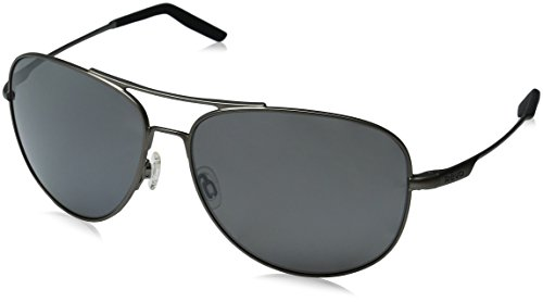 Revo Windspeed II RE 1022 00 GY Polarized Aviator Sunglasses, Gunmetal Graphite, 63 - Glass Revo Sunglasses Lens