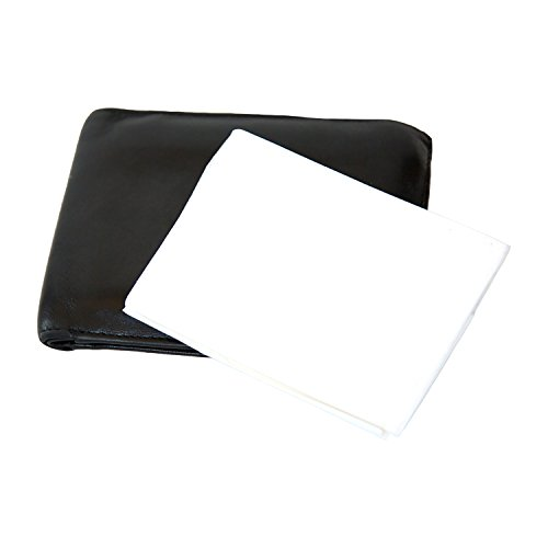5-Pack Disposable Toilet Seat Covers (50 Total)   Travel Size Fits in Purse or Wallet   Resealable Package   By PureBloom Products