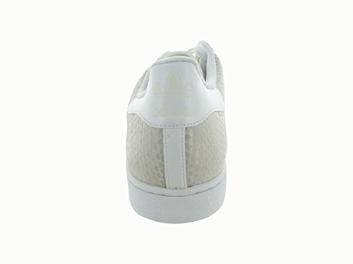 adidas Originals Herren Superstar Casual Sneake Cremeweiß