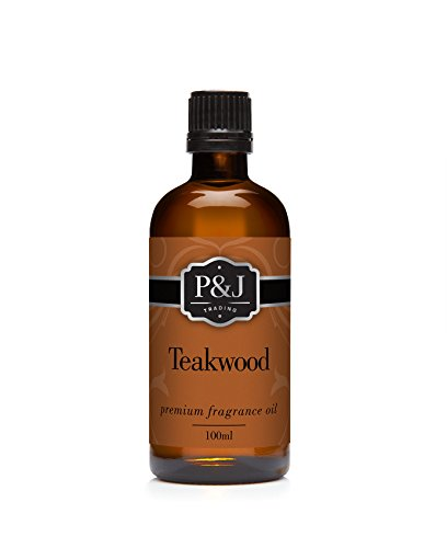 Teakwood Fragrance Oil - Premium Grade Scented Oil - 100ml