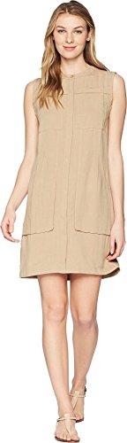 NAU Women's Flaxible Sleeveless Dress Linen Small ()