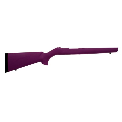 Hogue 22016 10/22 OverMolded Stock.920 Barrel, Purple by Hogue